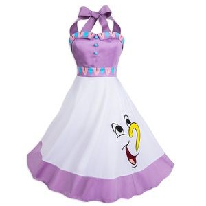NWT Disney Dress Shop Mrs. Pots and Chip Dress